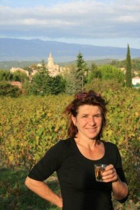 Mirjam in de wijngaard