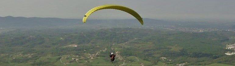 paragliding frankrijk