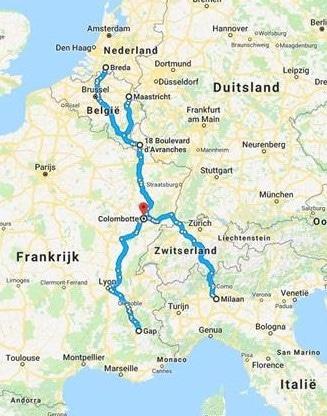 Overnachten onderweg naar zuid-Frankrijk of Italié bij La Tourelle